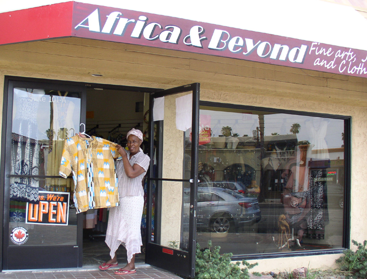 Africa and beyond clothing